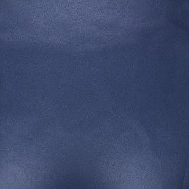 Pearly coated cretonne cotton fabric - navy blue x 10cm
