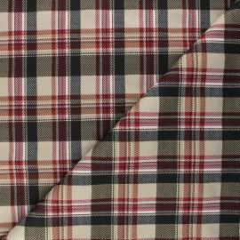 Tissu maille Dunoon - beige x 10cm
