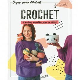 """Livre """"Crochet - 8 modèles adorables pour se lancer"""""""