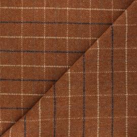 La Maison Victor Coat sheet fabric - cinnamon Murphy x 10cm