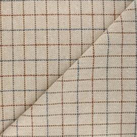 Coat sheet fabric - beige Murphy x 10cm