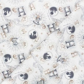 Cretonne cotton fabric - raw Harry Potter Timeless x 10cm