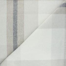 Wool fabric - light grey Loman x 10cm