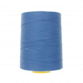 Cône fil à coudre super résistant Coats Epic 5000 m - bleu clair