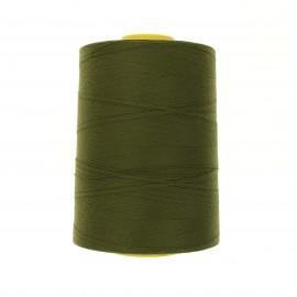 Cône fil à coudre super résistant Coats Epic 5000 m - vert olive