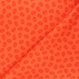 Tissu coton Andover Fabrics The Watcher - citrouille x 10cm