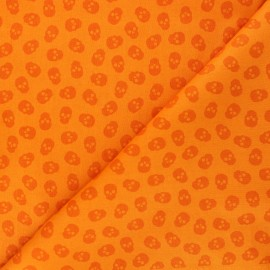 Tissu coton Andover Fabrics The Watcher - orange x 10cm