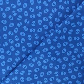 Tissu coton Andover Fabrics The Watcher - bleu marine x 10cm
