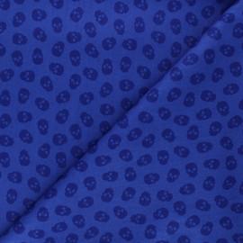 Tissu coton Andover Fabrics The Watcher - bleu x 10cm