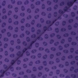 Tissu coton Andover Fabrics The Watcher - violet x 10cm