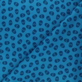 Andover Fabrics cotton fabric - turquoise The Watcher x 10cm