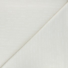 Tissu coton Andover Fabrics Dash - crème x 10cm