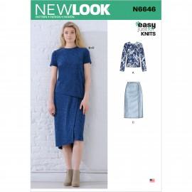 Patron Ensemble Femme - New Look 6646