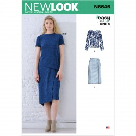 Sewing Pattern Set for Woman - New Look 6646