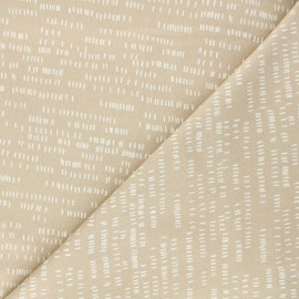 Tissu coton Andover Fabrics Dash - sable x 10cm