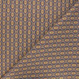 Tissu coton cretonne Finchley - rouge x 10cm
