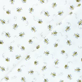 Tissu coton Andover Fabrics Bumble bee - jaune x 10cm