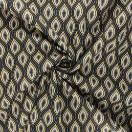 Poplin cotton fabric - grey Jana x 10cm