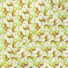 Tissu coton Granny - blanc x 10cm