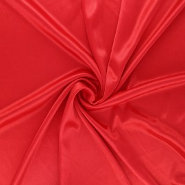 Lining jersey fabric - red x 10cm