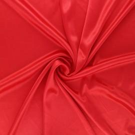 Tissu doublure jersey - rouge x 10cm