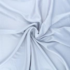 Lining jersey fabric - silver x 10cm