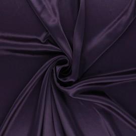 Lining jersey fabric - dark purple x 10cm