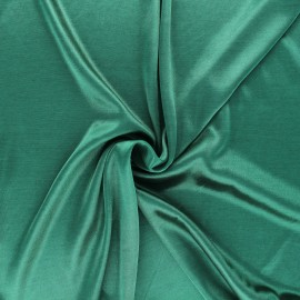 Tissu doublure jersey - vert sapin x 10cm