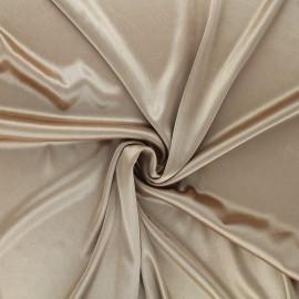 Lining jersey fabric - bronze x 10cm