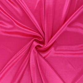 Tissu doublure jersey - fuchsia x 10cm