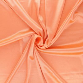 Tissu doublure jersey - corail x 10cm