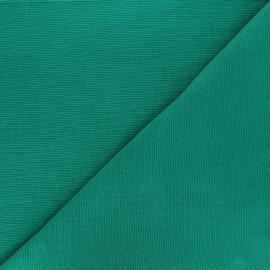 Knitted Jersey tubular edging fabric x 10 cm - green grass