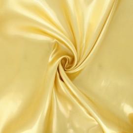 Tissu doublure lurex doré jaune x 50cm