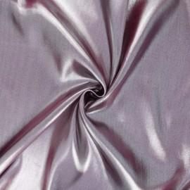 Tissu doublure lurex violine  x 50cm