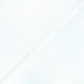 Tissu coton Golden dots - écru x 10cm