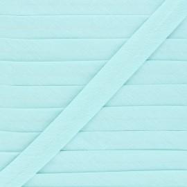 Biais tout textile 20 mm - menthe à l'eau x 1m