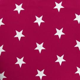 ♥ Coupon 120 cm X 150 cm ♥ Big Stars Fabric - Purple