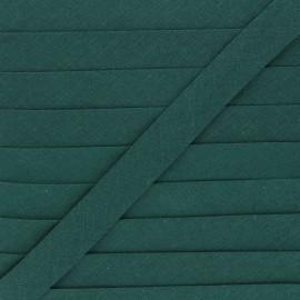 Biais tout textile 20 mm - vert sapin x 1m