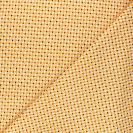 Tissu coton Andover Fabrics Clamshells - blanc x 10cm