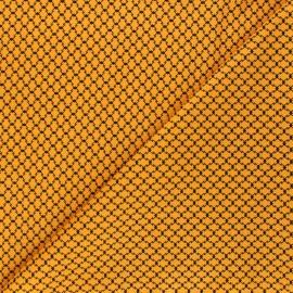 Tissu coton Andover Fabrics Haunted Check - orange x 10cm