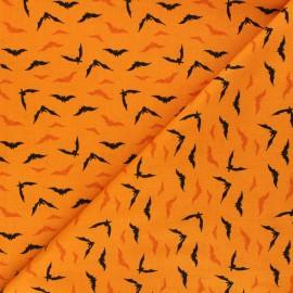 Andover Fabrics cotton fabric - orange Night flight x 10cm