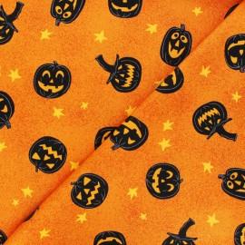 Tissu coton Andover Fabrics Jack-O-lantern - orange x 10cm
