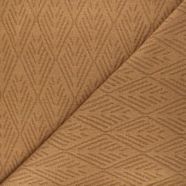 Tissu maille tricot Alpine - noisette x 10cm