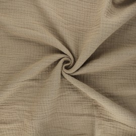 Double gauze fabric MPM - safari x 10cm