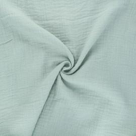 Tissu double gaze de coton MPM - amandier x 10cm