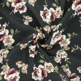Twill viscose fabric - raw Natasha x 10cm