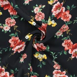 Twill viscose fabric - pink Natasha x 10cm