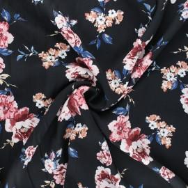 Tissu twill viscose Natasha - rose clair x 10cm