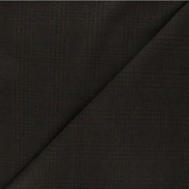 Tissu drap manteau léger Flynn - marron x 10cm