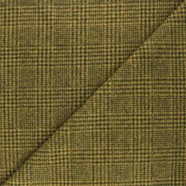 Tissu drap manteau léger Flynn - jaune x 10cm